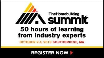 FineHomebuilding Summit