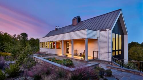Modern Home in a Rural Hamlet