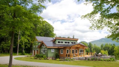 Efficient Timber Frame Living