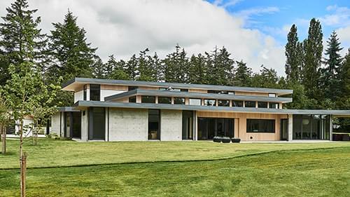Family-Centered Modern Home