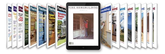Fine Homebuilding Covers