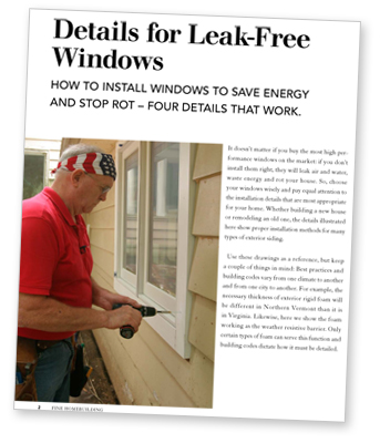 picture of window sill pan flashing