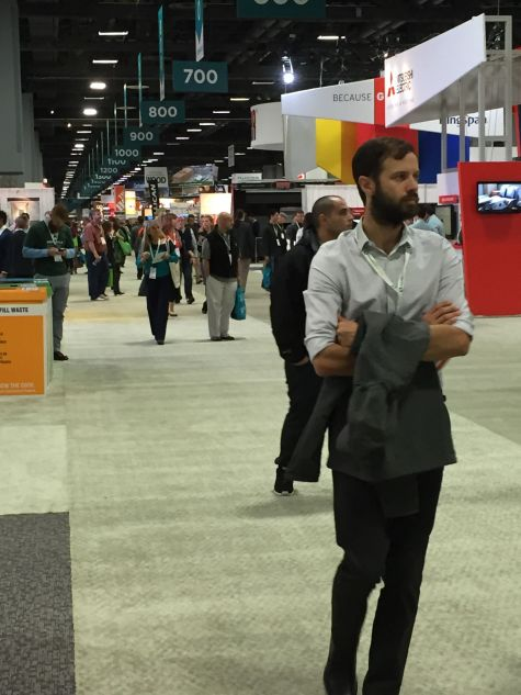 Visitor to Greenbuild