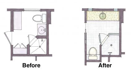 Steal from your closets: Before and after plans