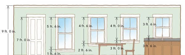 If You Go To The Expense Of A Taller Than Average Room Then Windows And Doors Choose Should Take Advantage That Height