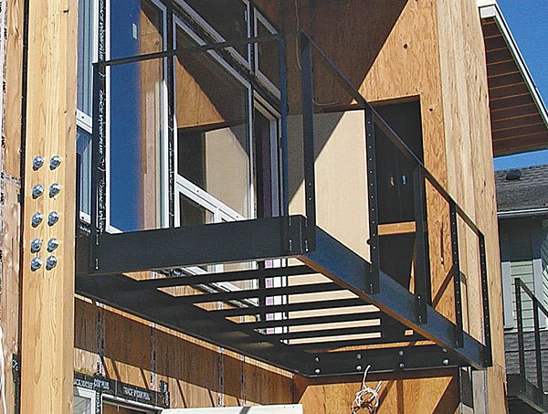 Second-Story Balconies - Fine Homebuilding