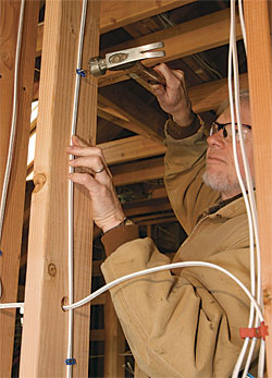 Running Electrical Cable - Fine Homebuilding on