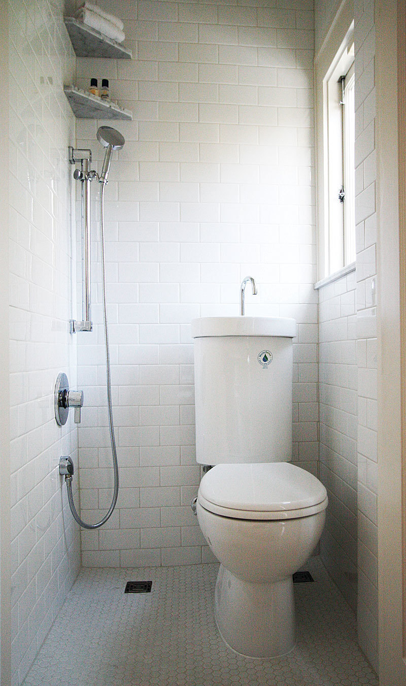 When We First Saw This Bathroom Remodel It Brought Our Workday To A Screeching Halt Didn T Know Whether Was Pure Genius Or Absolute Stupidity