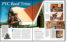 Read the article: PVC Roof Trim