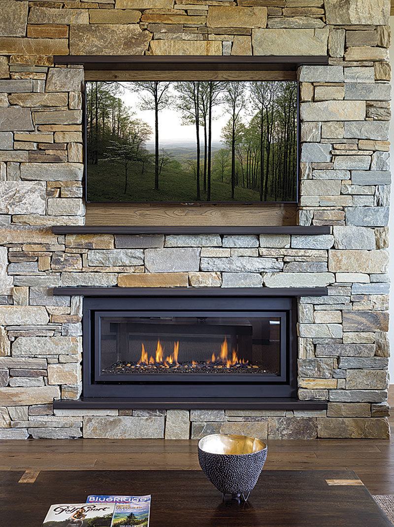 Fireplaces And Televisions Have Long Had A Place In Our Homes One Provides Warmth Comfort The Other Entertainment Both Of Them Bring