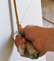 Holding Tape Measure to Hook