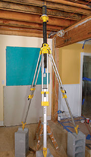 A Laser Level Is An Incredibly Useful Versatile Tool Accurate To Within 5 16 In Over 100 Ft Most Are Self Leveling Which Means That After You Set The