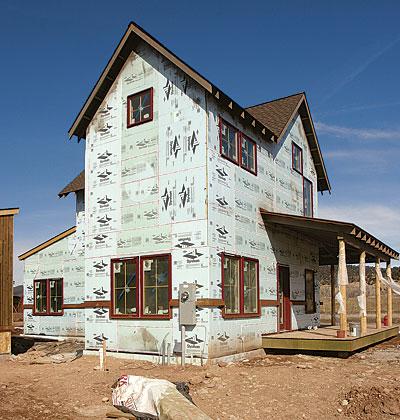 Foam sheathing: inside or out? - Fine Homebuilding