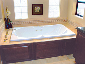 Removable Tub Surround Fine Homebuilding