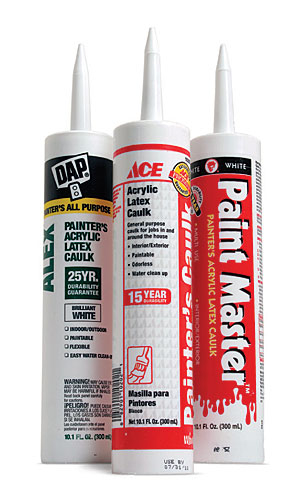 What S The Difference Paintable Caulk