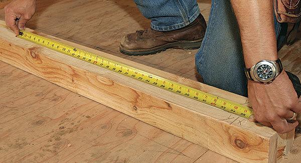 Measuring | A Basic Carpentry Skills Guide For Homesteaders