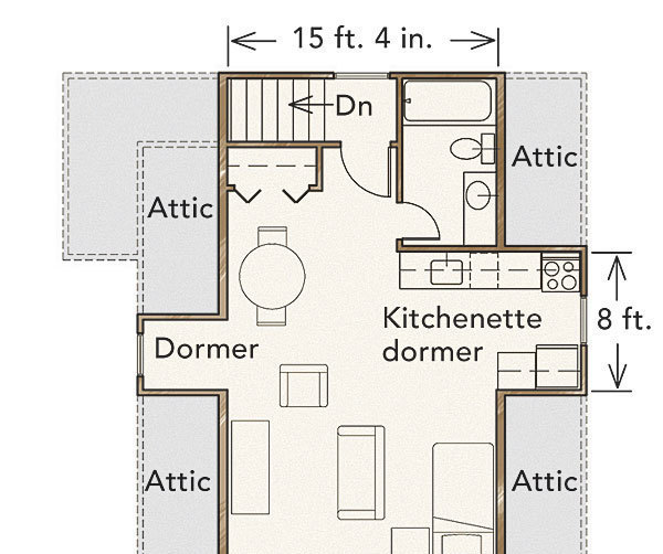 Apartment Search App: Getting Two-story Garages Right