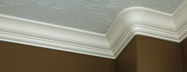 Radiused Crown Molding In Plaster, How To Install Crown Moulding On Rounded Corners
