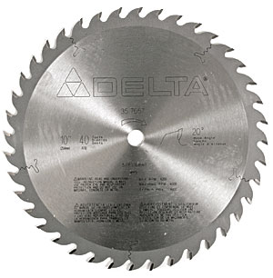 What's the Difference: Circular sawblades with different