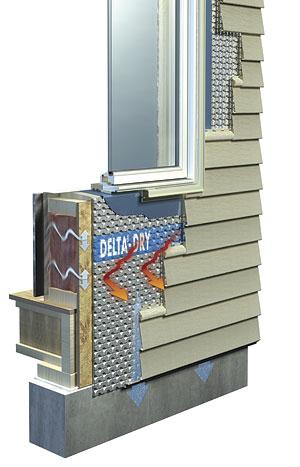 A Housewrap And Rain Screen In One Fine Homebuilding