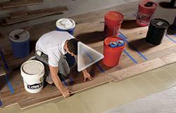 Installing Wood Floors on a Concrete Slab