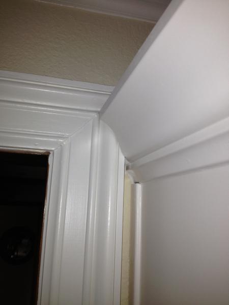 Crown Molding Overlaps Door Frame Fine Homebuilding