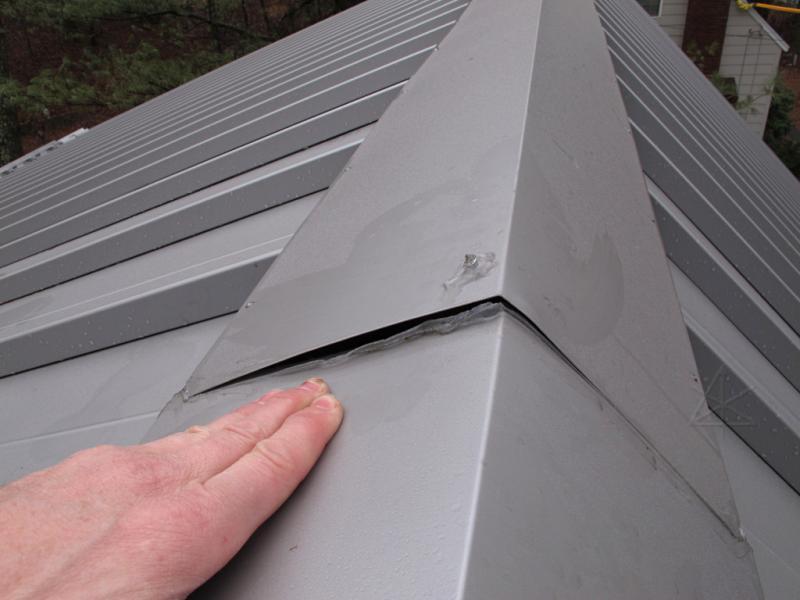Metal Roof Ridge Cap Overlap Problems Fine Homebuilding